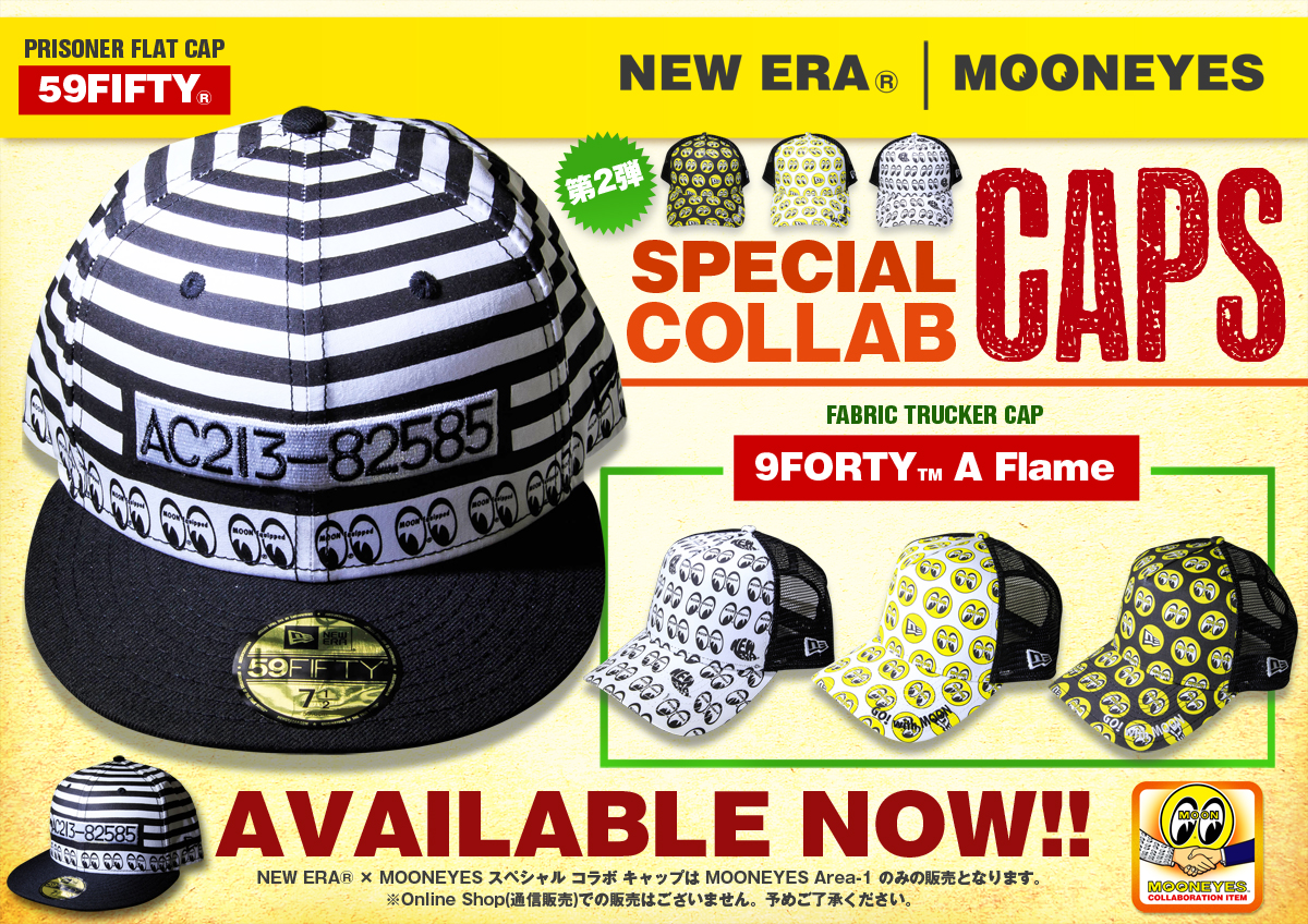 NEW ERA ® × MOONEYES SPECIAL COLLABORATION ITEMS 第2弾