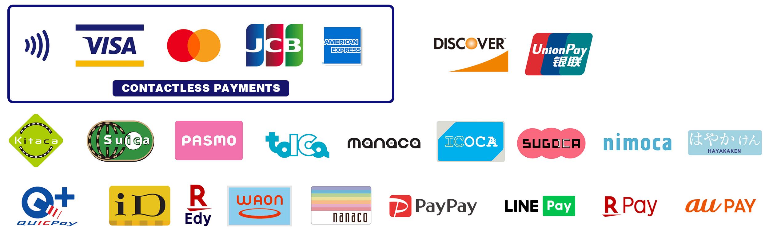 MOONEYES Area-1, MOON Cafe でクレジットカードのコンタクトレス決済がご利用可能になりました。